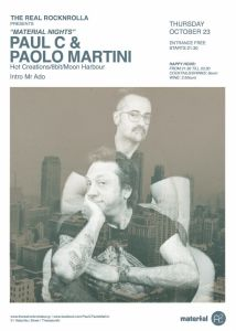paul c paolo martini flyer