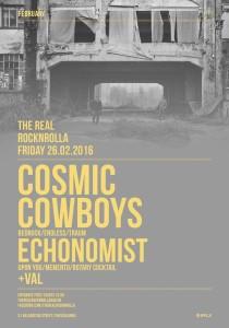 COSMIC COWBOYS poster