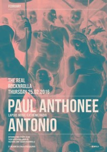 PAUL ANTHONEE poster